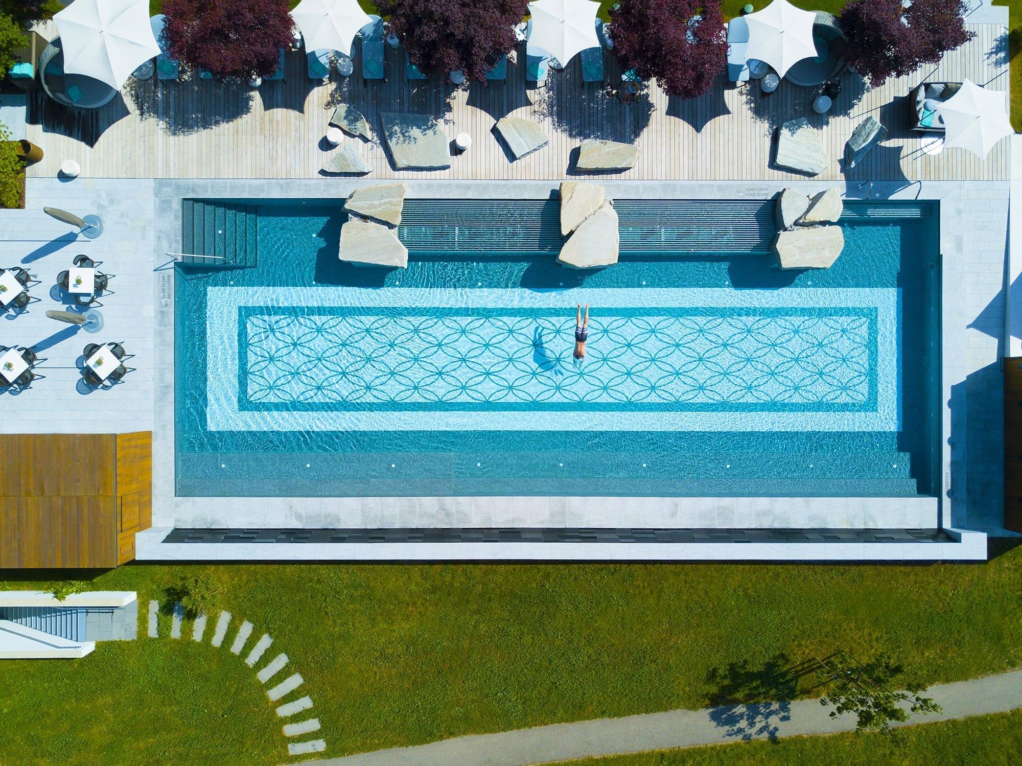 At the pool in Zurich   Giardino Hotels, Swtizerland   5 ...