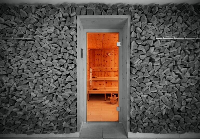 Sauna im Haus